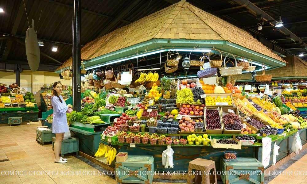 фрукты рогожский рынок