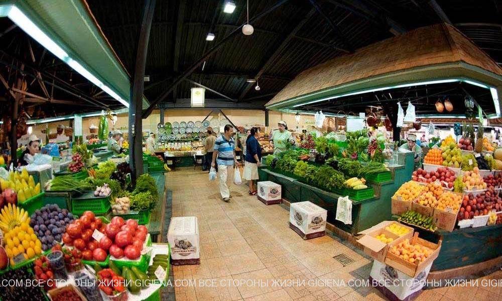 овощи и фрукты рогожский рынок
