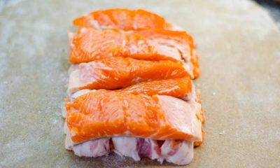 похудеть на беконе и красной рыбе