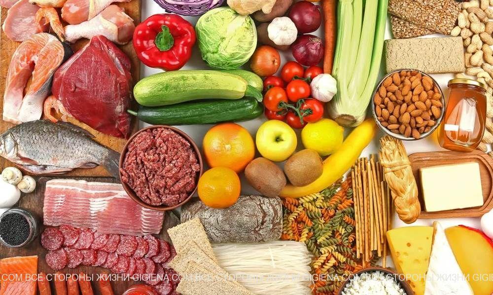 продукты питания в больших городах