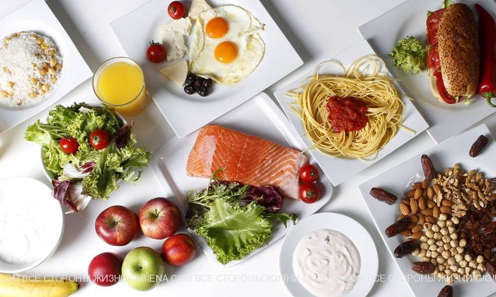 ошибки правильное питание