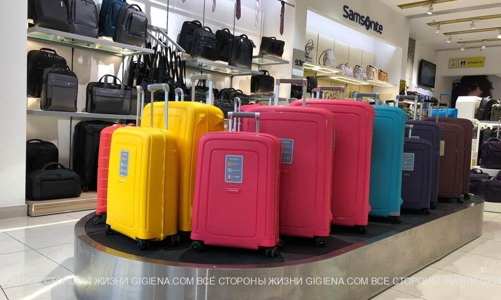 Дорожные чемоданы, городские рюкзаки и другие сумки известных брендов