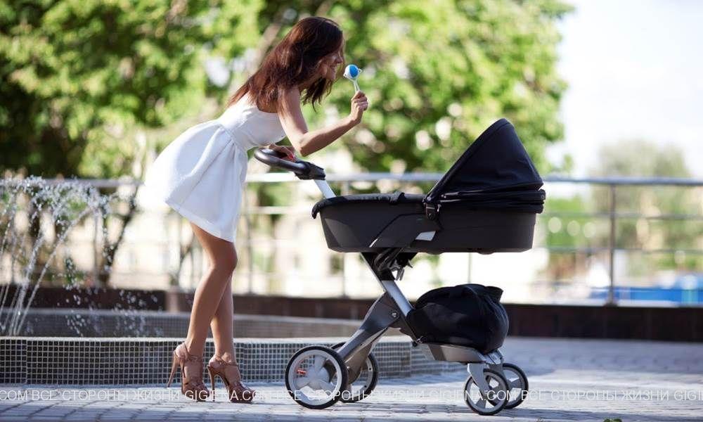 детская коляска фото