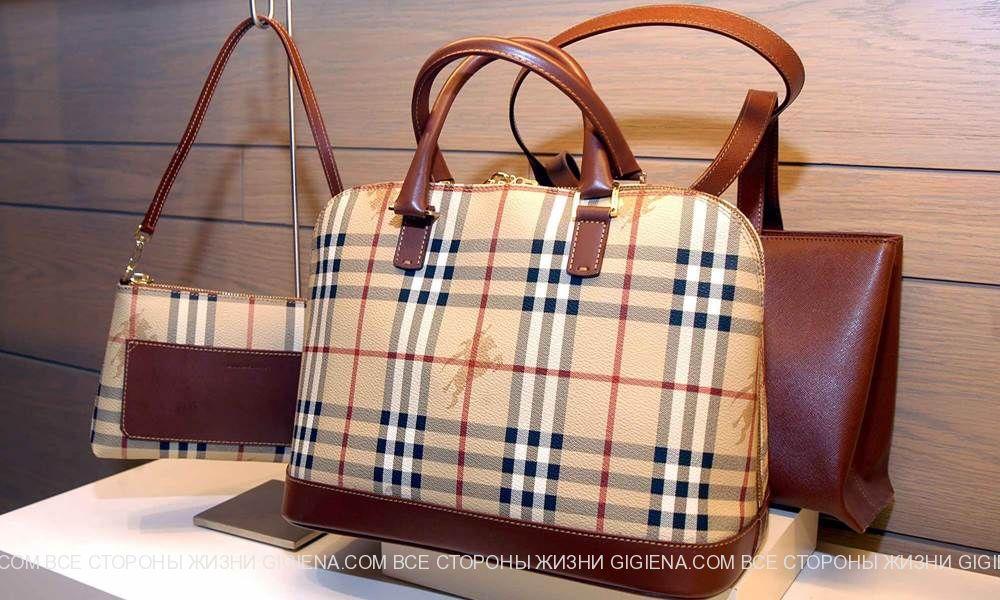 сумки burberry